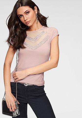MELROSE Блуза с круглым вырезом