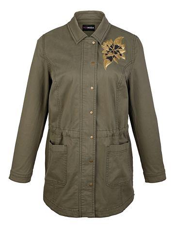 MIAMODA Куртка с окантовка и с пайетками в Sch...