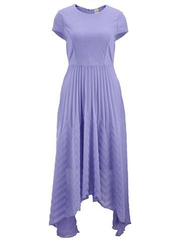 heine STYLE Платье в сочетание материалов