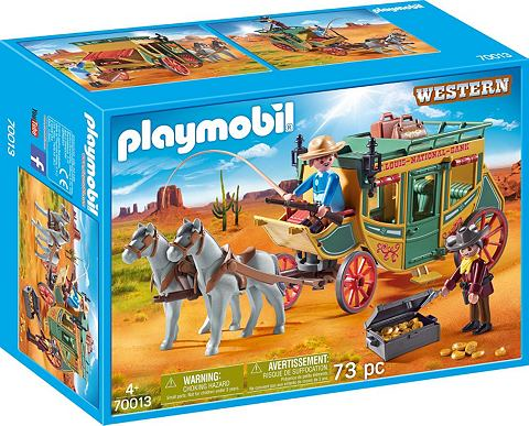 PLAYMOBIL ® Westernkutsche (70013) »We...