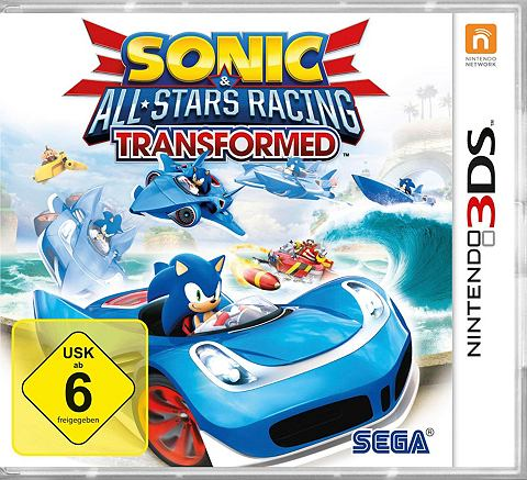Sonic All Stars гонки Transformed Nint...