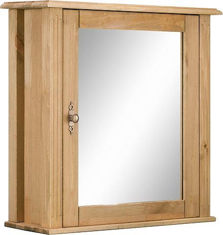 WELLTIME Шкаф с зеркалом »Kaolin«