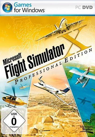 Flight Simulator X Professional Editio...