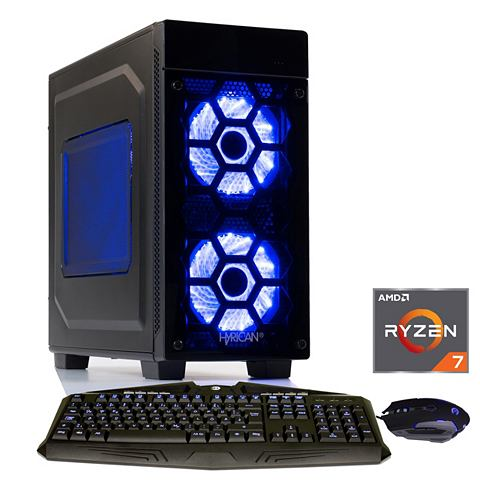 HYRICAN Игровой PC Ryzen? 7 2700 16GB SSD + HD...
