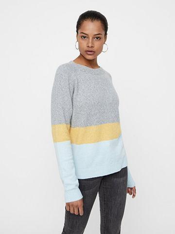 VERO MODA Футболка трикотажный пуловер