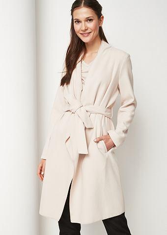 COMMA Lässiger пальто с пояс