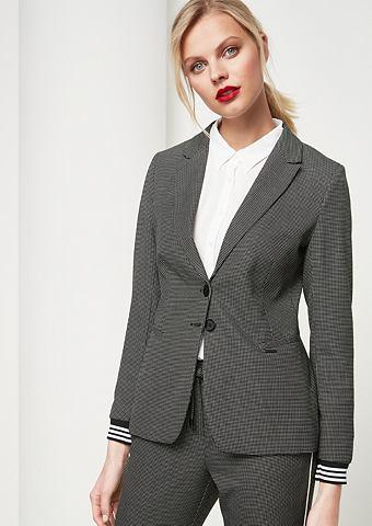 Пиджак с декоративный мелкий узор