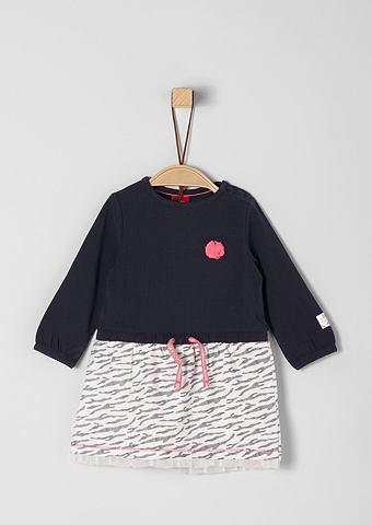 S.OLIVER RED LABEL JUNIOR Платье из джерси с аппликация для Baby...