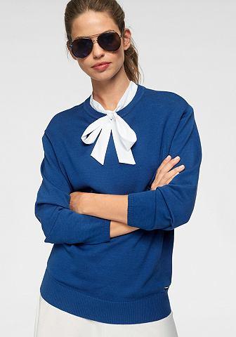 Трикотажный пуловер softly объемный