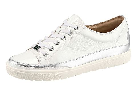 Ботинки со шнуровкой в Lack и металлич...
