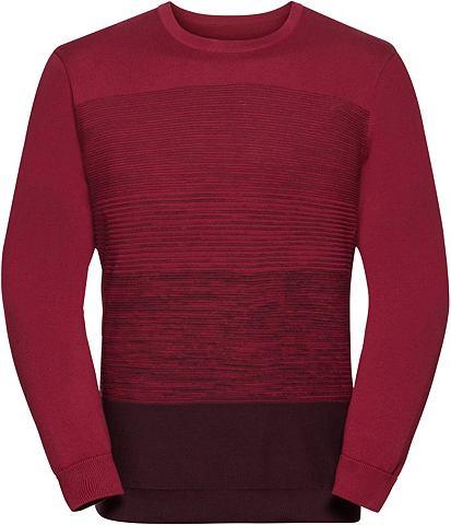 Пуловер с angesagter Rippstruktur