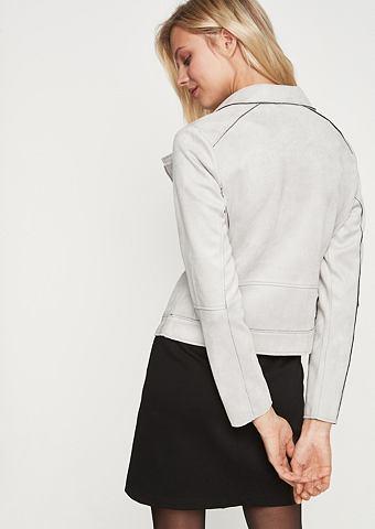 COMMA Байкерские куртка из Velourleder
