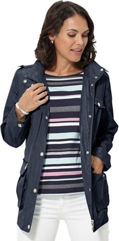 Куртка в сдержанный блестящий качестве...