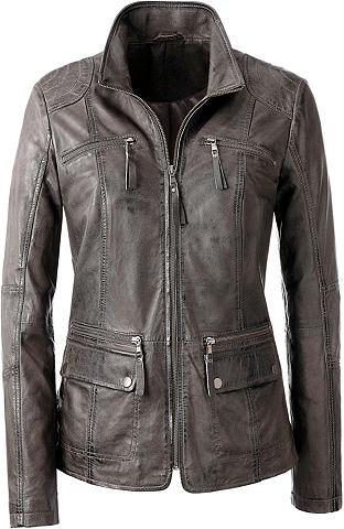 Куртка кожаная из handschuhweichem кож...
