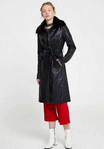 OXXO Пальто из искусственной кожи