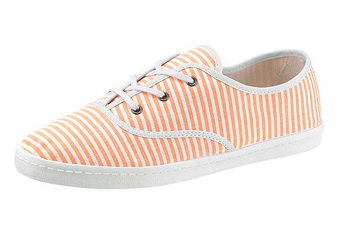 CASUAL LOOKS Ботинки со шнуровкой с Kontrastpaspeli...