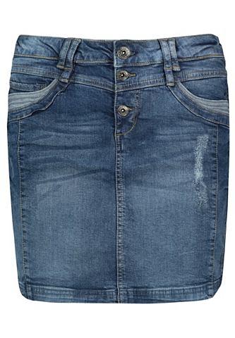 SUBLEVEL Юбка джинсовая
