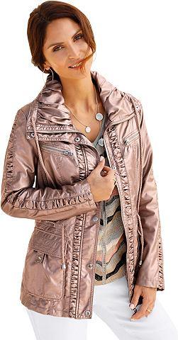 Куртка из искусственной кожи с effektv...