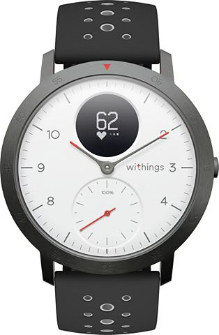WITHINGS Connected Watch »STEEL HR Sport&...