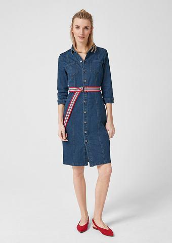 Платье джинсовое с Streifengürtel...