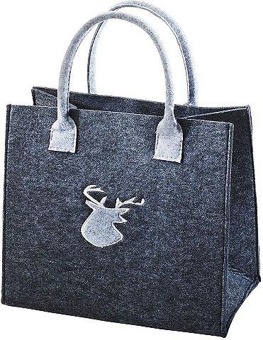 HOME AFFAIRE Флисовая сумка »Hirschmotiv&laqu...