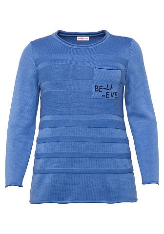 SHEEGO CASUAL Sheego пуловер с круглым вырезом