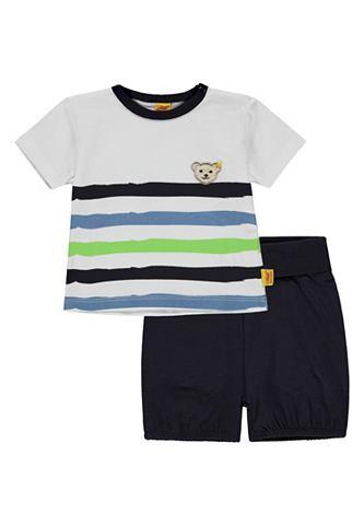 STEIFF Комплект: 2 шт. комплект футболка + шо...