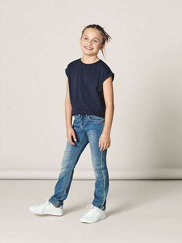 NAME IT Узкий форма Seitenstreifen джинсы