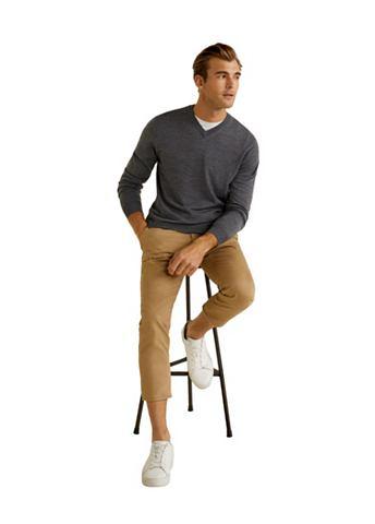 MANGO MAN Пуловер из 100 % Wolle