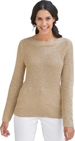 CLASSIC INSPIRATIONEN Пуловер с широкий Blende
