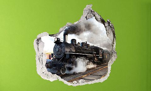 3D-Wandtattoo »Train« selb...