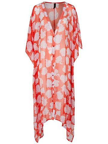 Нежный geblümter кимоно халат