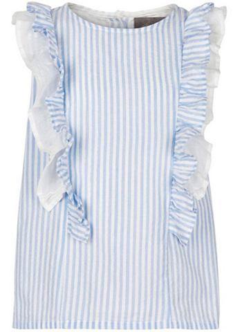 CREAMIE Блузка с рюшами