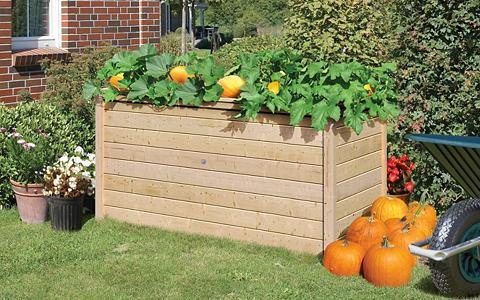 KARIBU Ящик для растений BxTxH: 209x111x92 cm...