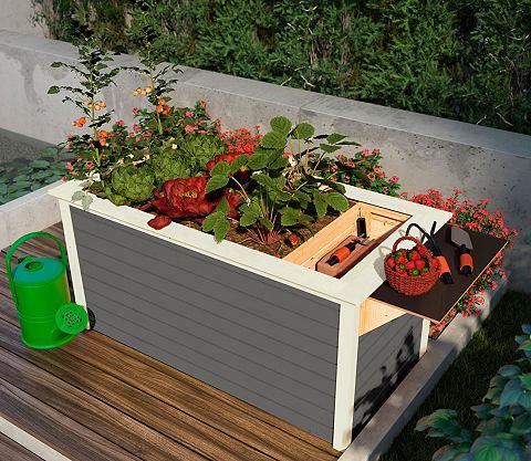 Ящик для растений Bx Tx H: 209x111x92 ...