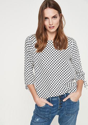 C рукавом три четверти (3/4) блузка са...