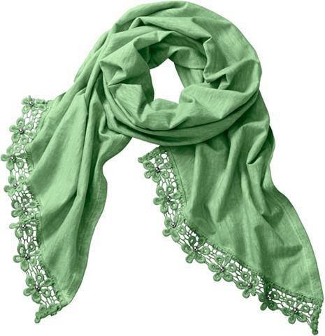 Création L шарф с applizierten ...