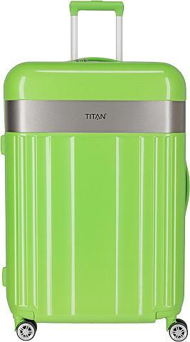 TITAN ® Пластиковый чемодан на колесах &...