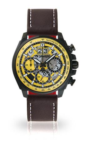 DETOMASO Часы-хронограф »LIVELLO BLACK YE...
