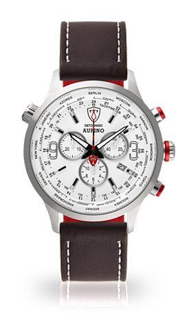 Часы-хронограф »AURINO SILVER WH...
