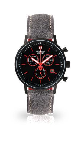 DETOMASO Часы-хронограф »MILANO BLACK BLA...