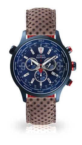DETOMASO Часы-хронограф »AURINO DARK BLUE...