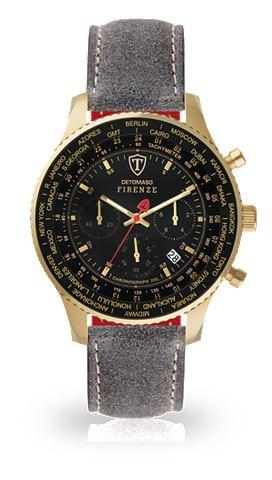 DETOMASO Часы-хронограф »FIRENZE XXL GOLD...