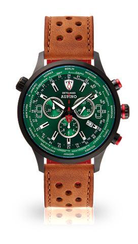 Часы-хронограф »AURINO BLACK GRE...