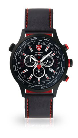 Часы-хронограф »AURINO BLACK BLA...