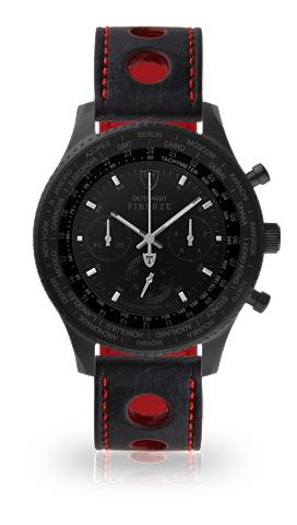 DETOMASO Часы-хронограф »FIRENZE XXL BLAC...