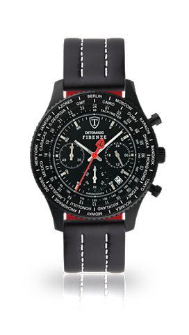 DETOMASO Часы-хронограф »FIRENZE BLACK BL...