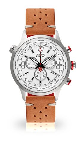 DETOMASO Часы-хронограф »AURINO SILVER WH...