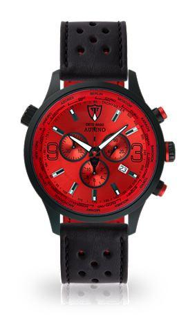 DETOMASO Часы-хронограф »AURINO BLACK RED...