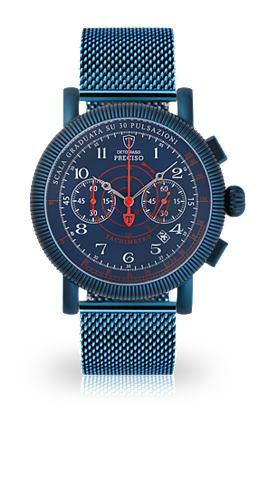 DETOMASO Часы-хронограф »PRECISO BLUE BLU...